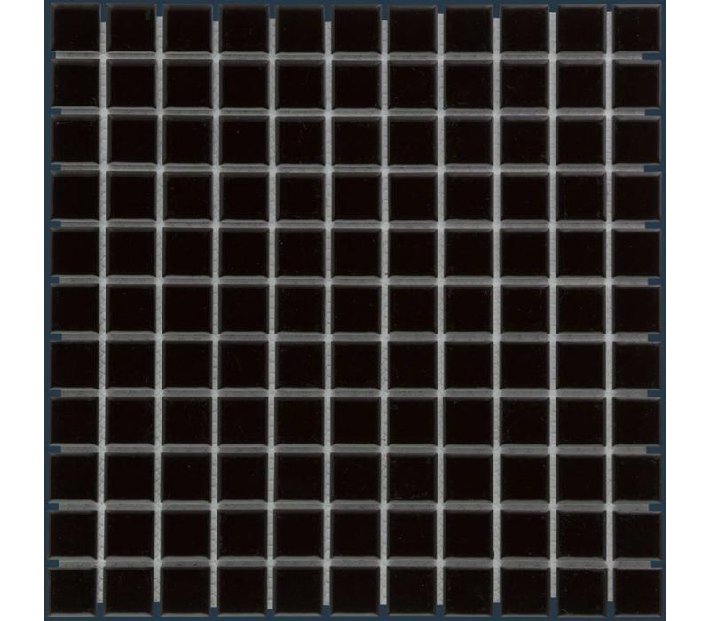 mozaïek BARCELONA Glossy Black 23x23