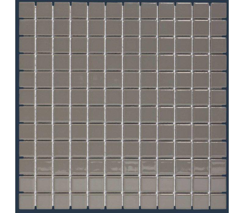 mozaïek BARCELONA Glossy Grey 23x23