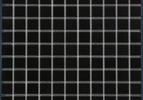 The Mosaic Factory mozaïek BARCELONA Matt Black 23x23