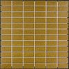 The Mosaic Factory mozaïek BARCELONA Hammered Gold 23x48