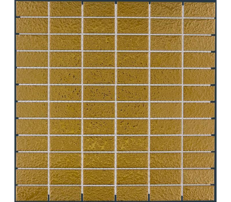 mozaïek BARCELONA Hammered Gold 23x48