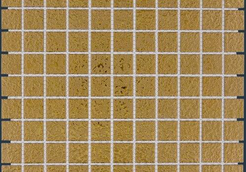 The Mosaic Factory mozaïek BARCELONA Hammered Gold 25x25
