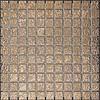 The Mosaic Factory mozaïek BARCELONA Hammered Rose Gold 25x25