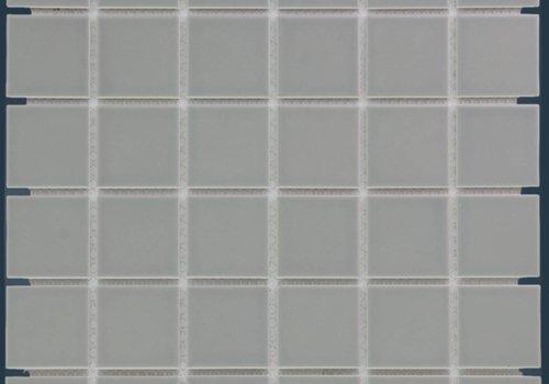 The Mosaic Factory mozaïek BARCELONA Glossy Grey 48x48