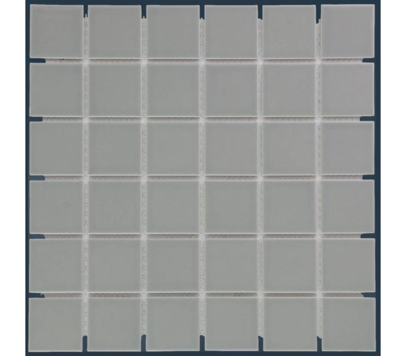 mozaïek BARCELONA Glossy Grey 48x48