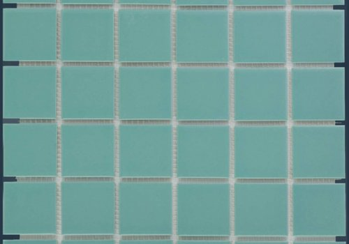 The Mosaic Factory mozaïek BARCELONA Glossy Light Green 48x48