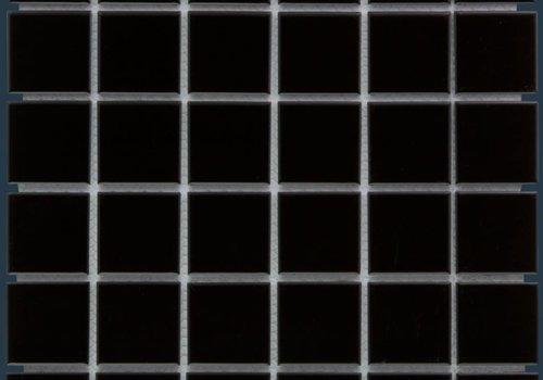 The Mosaic Factory mozaïek BARCELONA Glossy Black 48x48