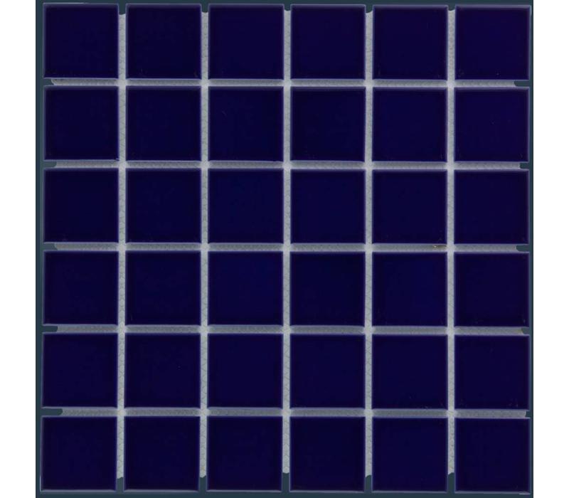 mozaïek BARCELONA Glossy Dark Blue 48x48