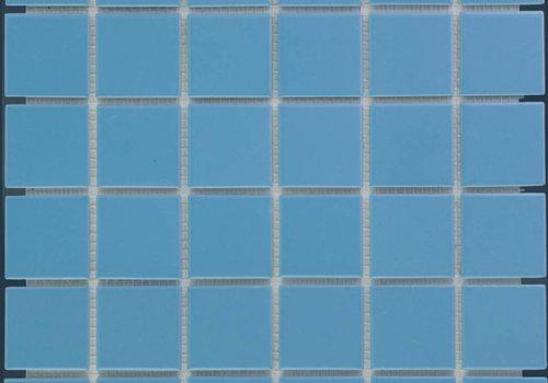 The Mosaic Factory mozaïek BARCELONA Glossy Blue 48x48