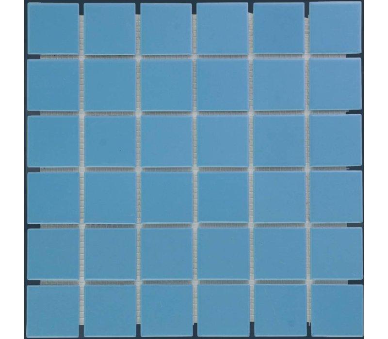 mozaïek BARCELONA Glossy Blue 48x48