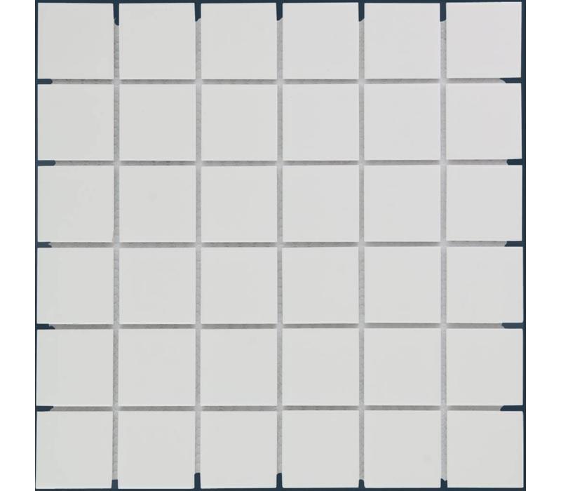 mozaïek BARCELONA Glossy Extra White 48x48