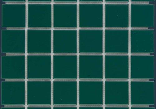 The Mosaic Factory mozaïek BARCELONA Glossy Dark Green 48x48