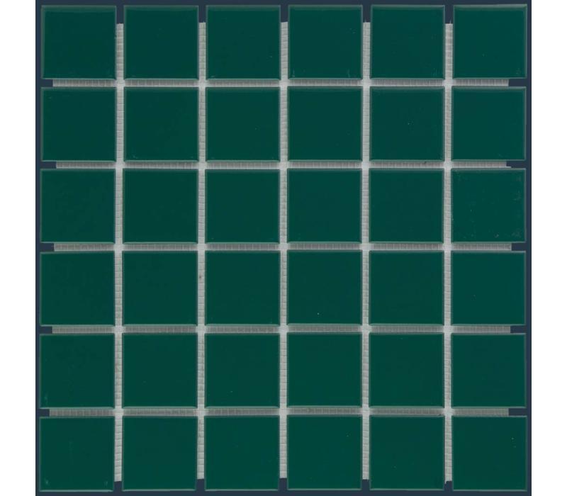 mozaïek BARCELONA Glossy Dark Green 48x48