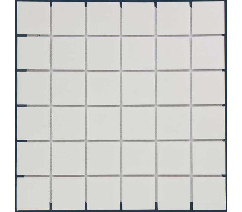mozaïek BARCELONA Matt White 48x48