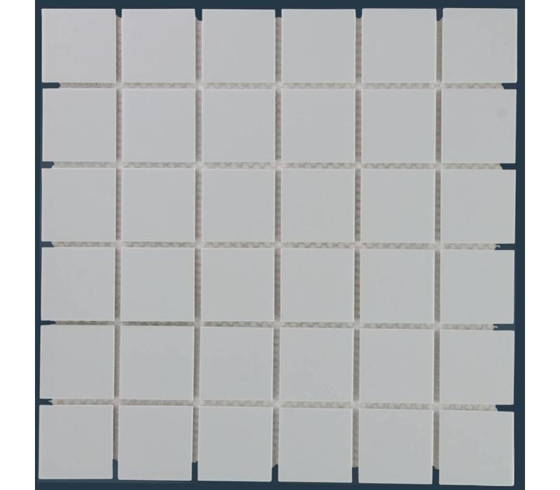 mozaïek BARCELONA Matt Light Grey 48x48