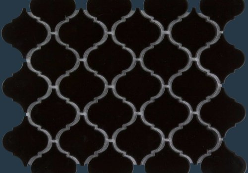 The Mosaic Factory mozaïek PARIS Eastern Lantern Glossy Black