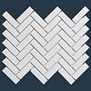 The Mosaic Factory mozaïek PARIS Herringbone Glossy Extra White