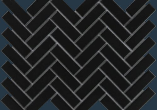 The Mosaic Factory mozaïek PARIS Herringbone Matt Black