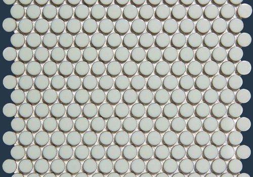 The Mosaic Factory mozaïek VENICE Glossy Light Grey Edge