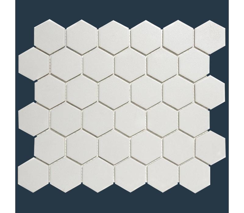 mozaïek LONDON Hexagon Super White 51x59