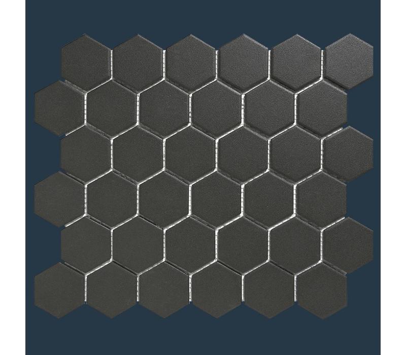 mozaïek LONDON Hexagon Black 51x59