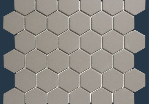 The Mosaic Factory mozaïek LONDON Hexagon Grey 51x59