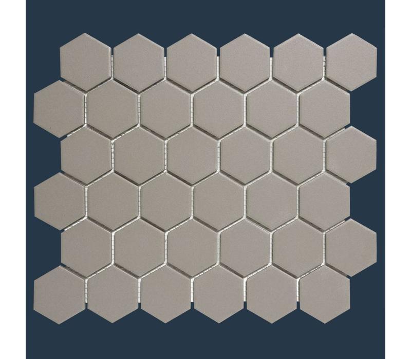 mozaïek LONDON Hexagon Grey 51x59