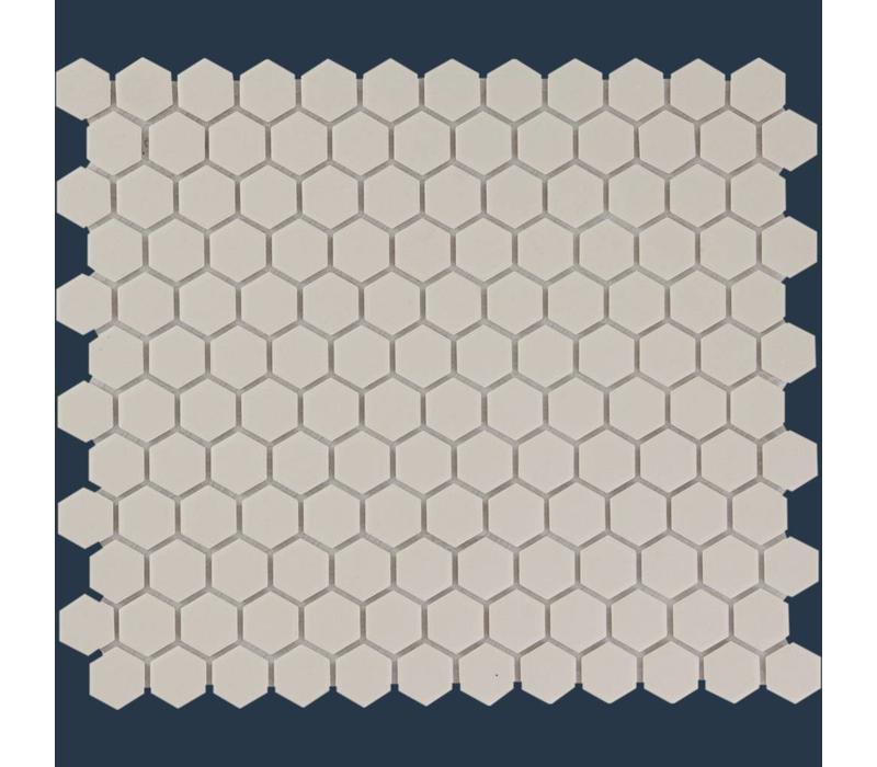 mozaïek LONDON Hexagon White 23x26