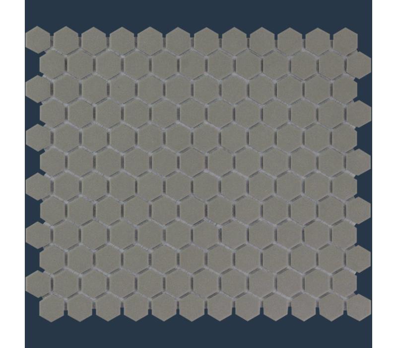 mozaïek LONDON Hexagon Dark Grey 23x26