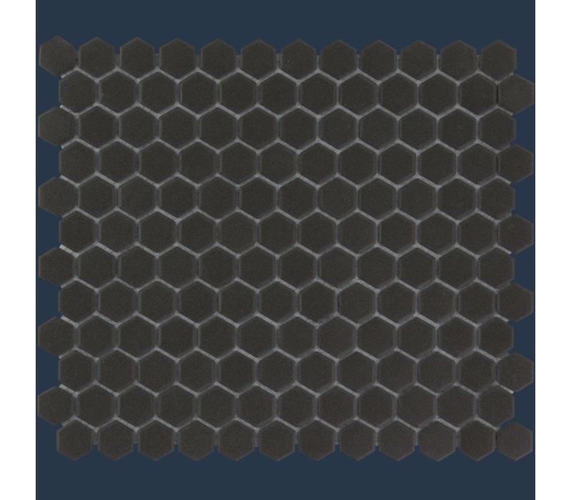 mozaïek LONDON Hexagon Black 23x26