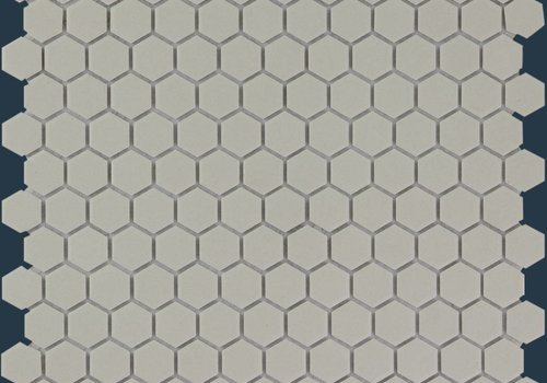 The Mosaic Factory mozaïek LONDON Hexagon Grey 23x26