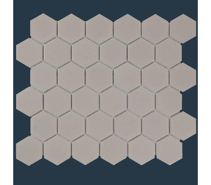 mozaïek BARCELONA Hexagon Matt Taupe 51x59