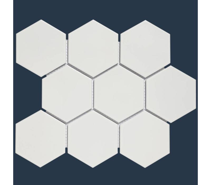 mozaïek BARCELONA Hexagon Matt White 95x110