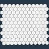 The Mosaic Factory mozaïek BARCELONA Hexagon Glossy Extra White 23x26