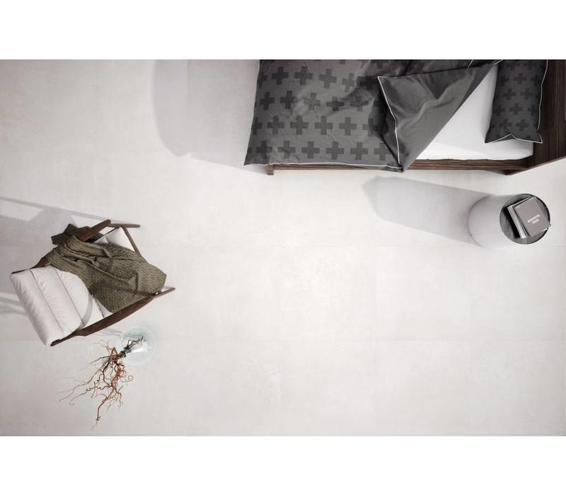 vloertegel NEUTRA White 75x75 cm rett.