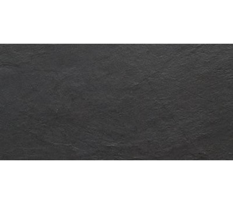 vloertegel ARDESIA Black 30x60 cm