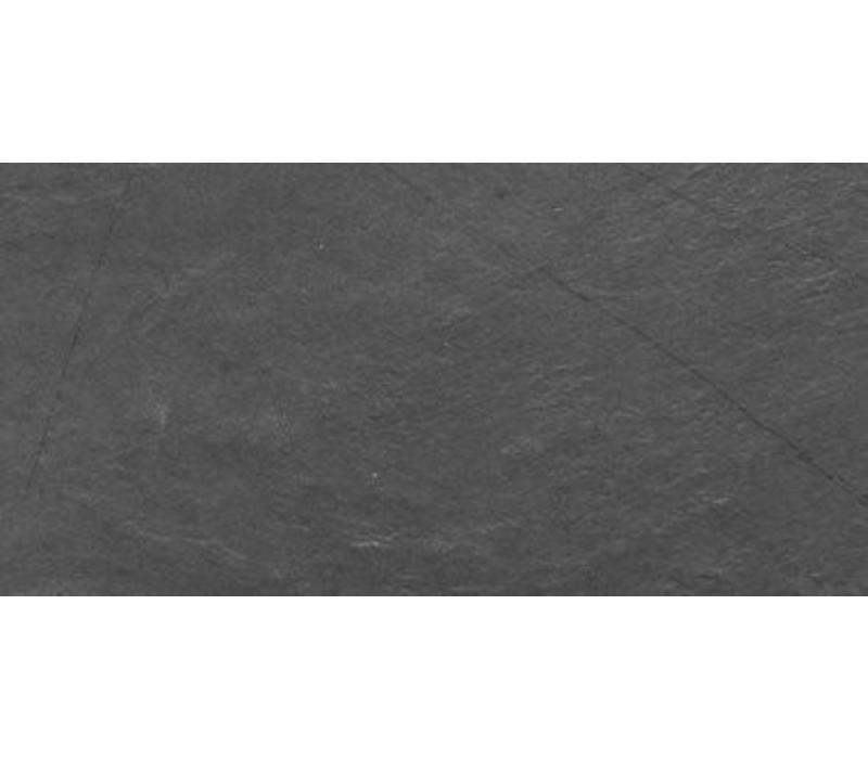 vloertegel ARDESIA Light Black 30x60 cm