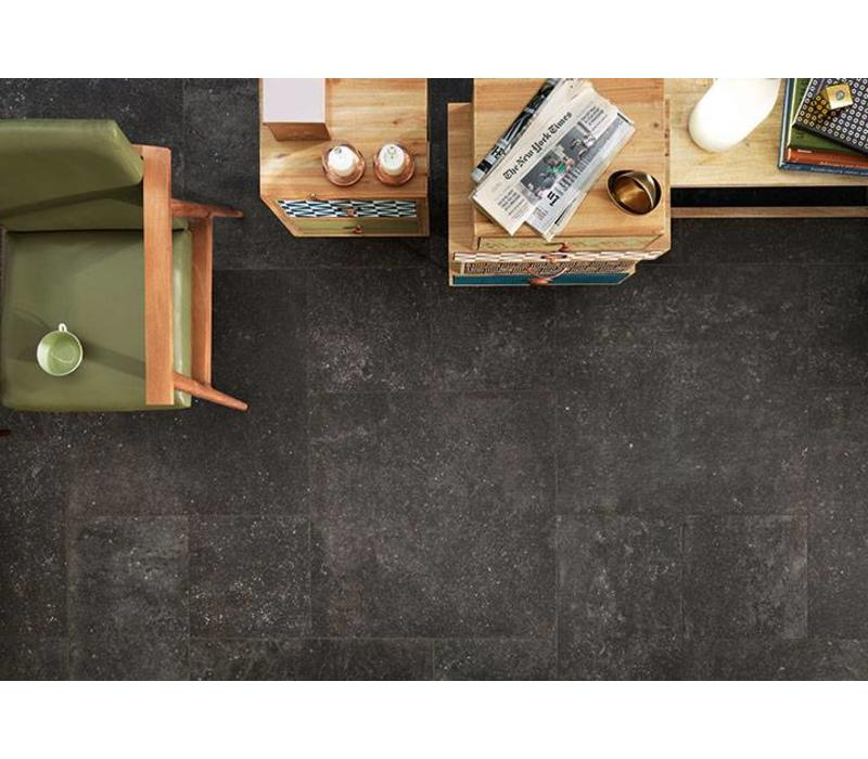 vloertegel KINGSTONE Black 80x80 cm