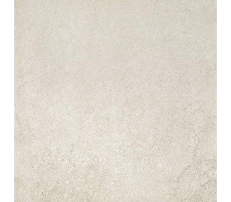 vloertegel TRACKS White 80x80 cm
