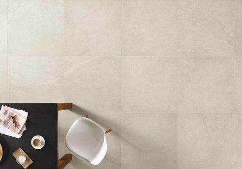 Fondovalle vloertegel TRACKS White 80x80 cm