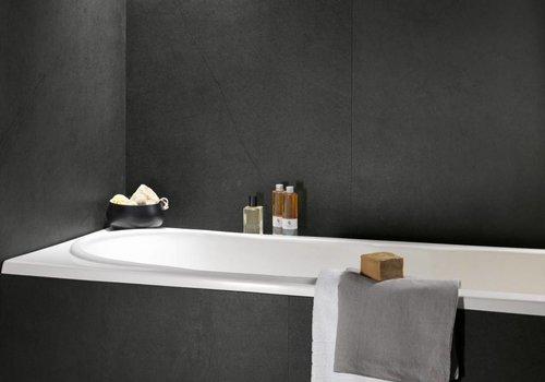 Fondovalle vloertegel TRACKS Black 80x80 cm