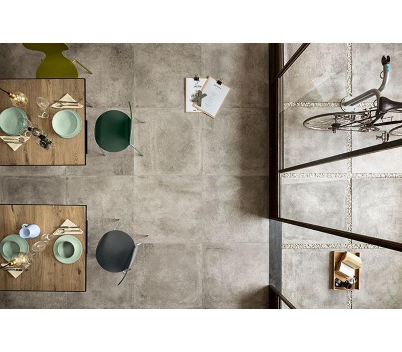 vloertegel OVERLAND Grigio 80x80 cm