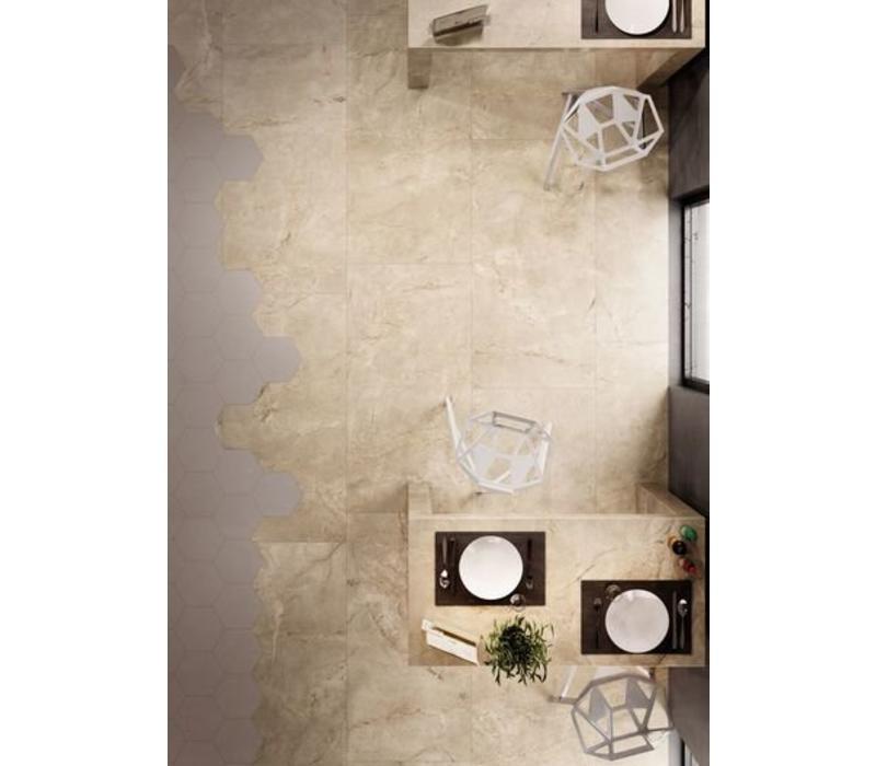 vloertegel ELEMENTS LUX Crema Beige 60x60 cm Naturale