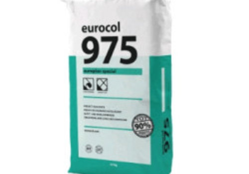 Eurocol 975 Europlan Speciaal EGALISEERMIDDEL ZAK A 23 KG