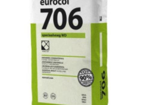 Eurocol 706 SPECIAALVOEG WD DOOS A 5 KG. basalt grijs