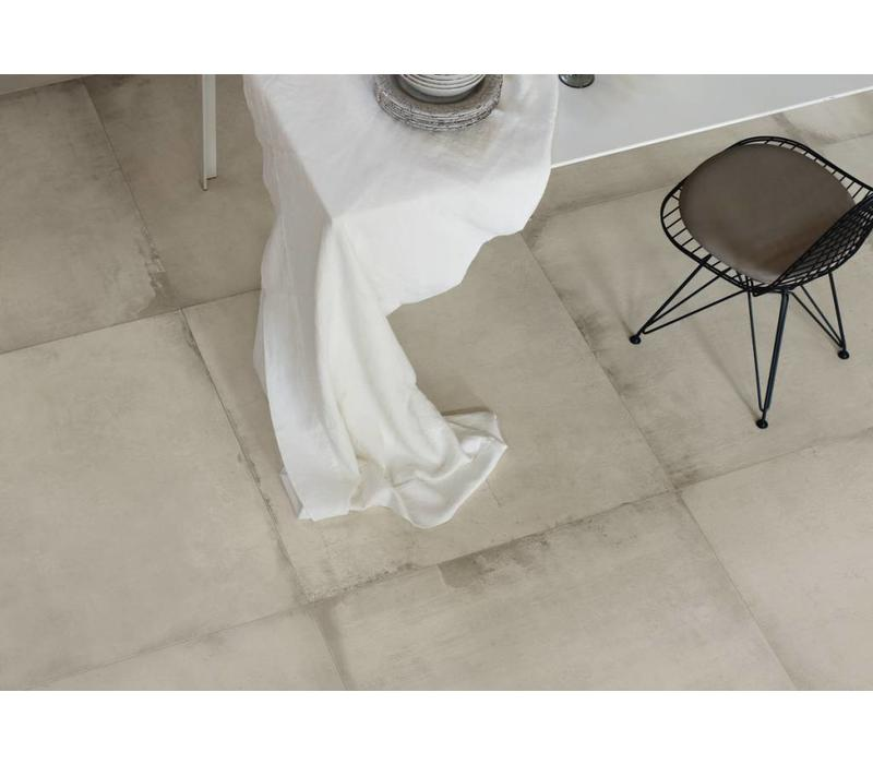 vloertegel WATERFRONT 90W White 90x90 cm