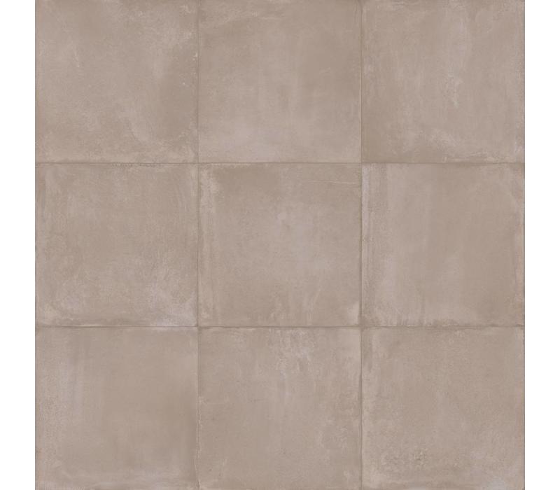 vloertegel TERRE Taupe 80x80 cm naturale