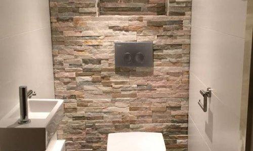 Tegels  voor in het toilet