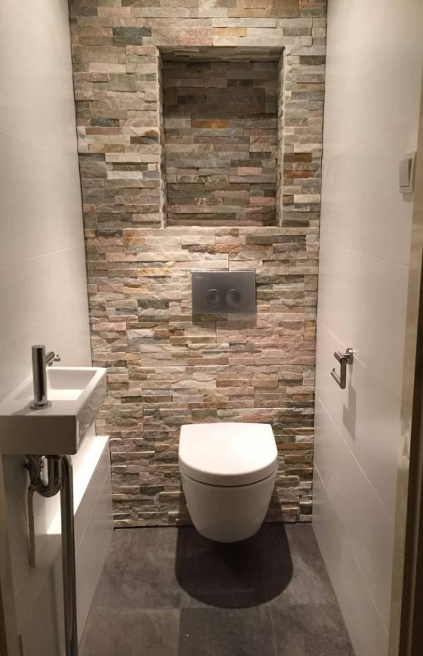 Wc tegels voor in het toilet.