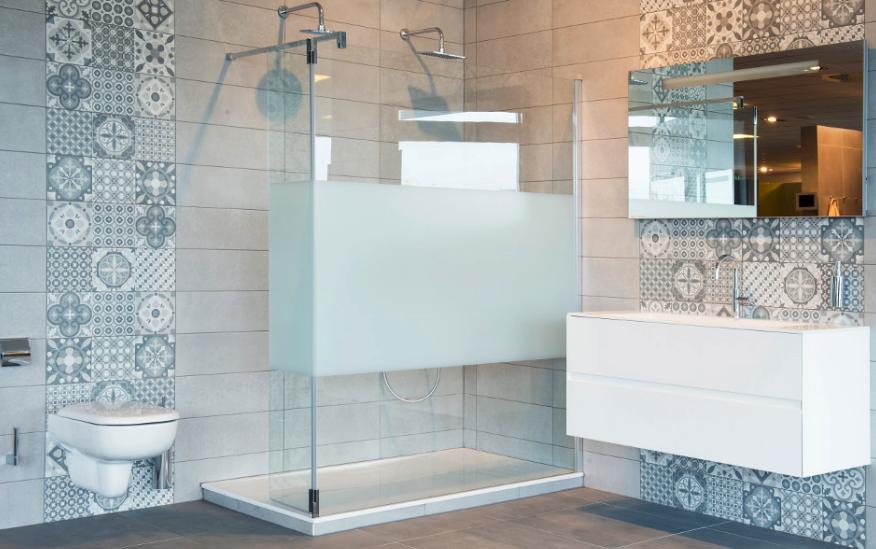 Badkamer Trends Tegels : Uitgelicht badkamer betegelen trends tegelextra